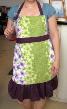 Custom made apron - front