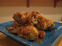 Flaked, Baked Fried Chicken