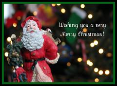 Christmas 2009 (aka Buddy) Tags: santa christmas winter tree bokeh og greeting 2009 picnik stnick