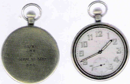 Military Issue Pocket Watch