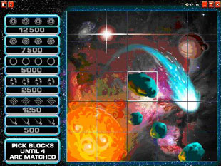free Starscape gamble bonus game