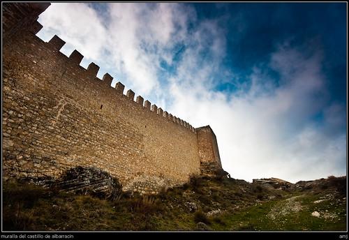 muralla del castillo de albarracín