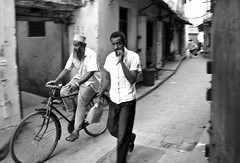 On the streets of Stone Town