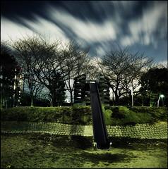 clair de nuit : I (TommyOshima) Tags: longexposure 6x6 night square naniwacolorkitn selfdeveloped