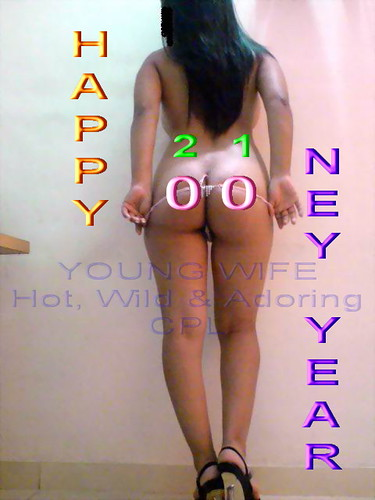 Merry Christmas Happy New Year Ass Card