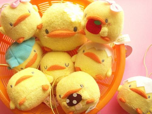 Kawaii Cute Piyo Chan Ornament Small Plush Chick Mascot Japan