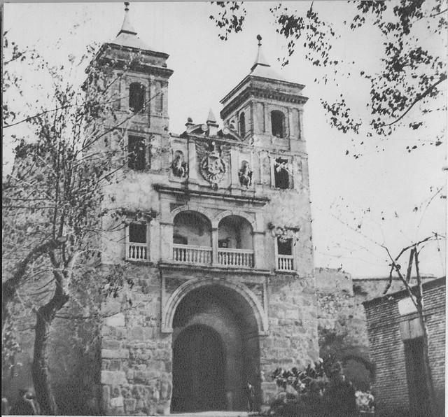 Puerta del Cambrón a mediados del siglo XX
