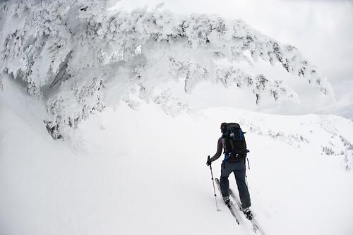 Tyax New Years Cinnabar Basin Ridge-a-rama Skiing Jan 2 2010   -11
