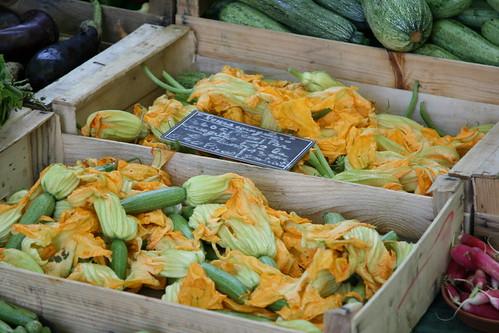 Courgette flowers / Zucchini flowers / Suvikõrvitsaõied