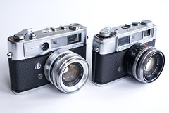 Yashica: Lynx 5000 and Lynx 1000 (fotostevia) Tags: yashica cameraporn lynx1000 lynx5000