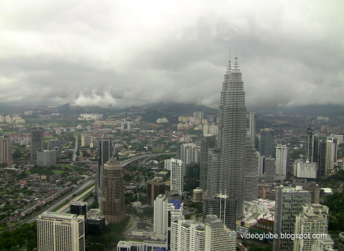 Storm over Kuala Lumpur