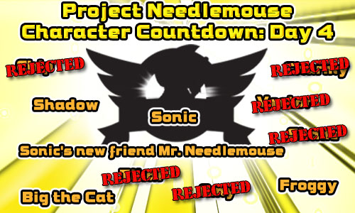 Project Needlemouse - Character Countdown Day 4