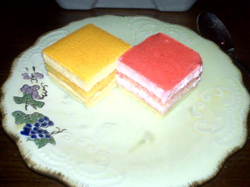 Dessert at Thai Basil