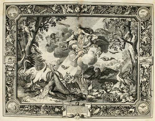 006- Los elementos-el aire-Tapisseries du roy, ou sont representez les quatre elemens 1690- Sebastien Le Clerc