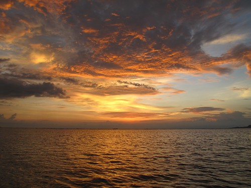 A final Gili Islands sunset