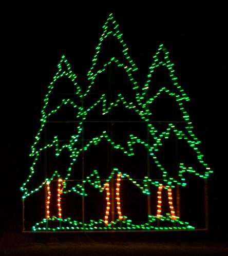 CF839 Pine Tree Holiday Lights