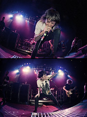 let's go chase the sunset, bring me the horizon (jordanvoth.com) Tags: bring me the horizon taste of chaos 2009 spokane washington knitting factory rockstar march 29 legit hardcore metal oliver sykes oli bmth guitar drums lights bass show concert new uk lee malia matt kean nicholls diptych