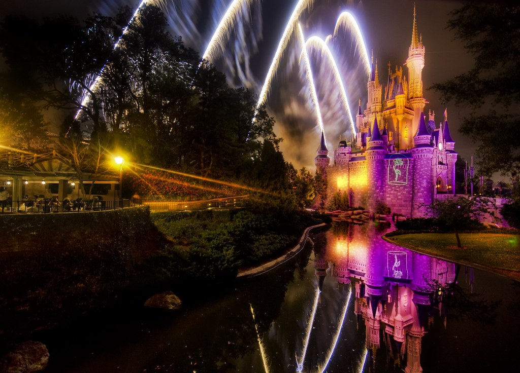 Another Magical Disney Fireworks Show