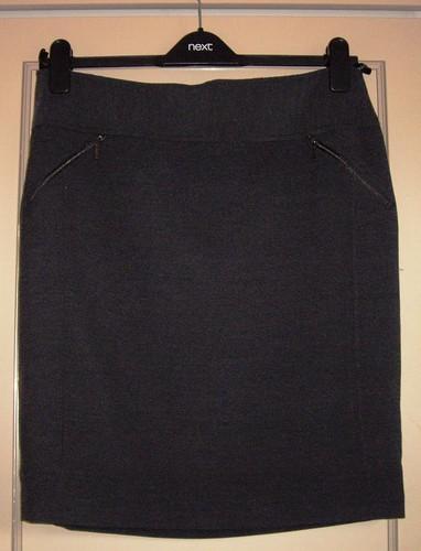 Next grey skirt