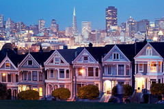 SF (j.hietter) Tags: sanfrancisco california skyline twilight cityscape victorian