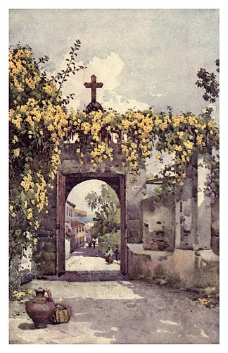 021- La puerta de una capilla en Madeira-The flowers and gardens of Madeira - Du Cane Florence 1909