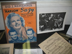 Jean Harlow part of the exhibit at the Laurel & Hardy Museum
