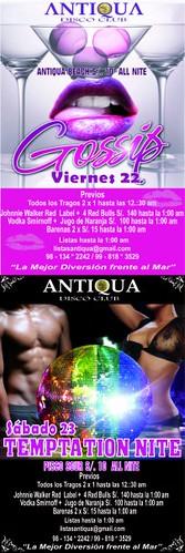 Temptation Nite - Antiqua Disco Club