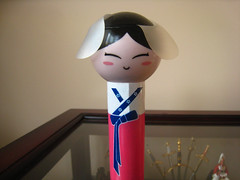 Geisha Doll Fan from Mint Singapore Toy Museum