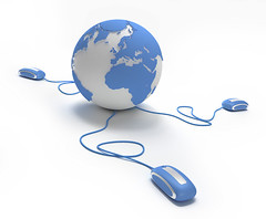 """World connection in blue (adrianne_locke) Tags: blue white computer mouse togetherness globe community chat solitude surf loneliness technology symbol map earth web internet www countries whitebackground international sphere planet environment concept ideas communities connection communications global 3drendering continents """"globalbusiness"""" """"worldmap"""" """"globalcommunications"""" """"computergraphic"""" """"isolatedonwhite"""" """"internetdating"""""""
