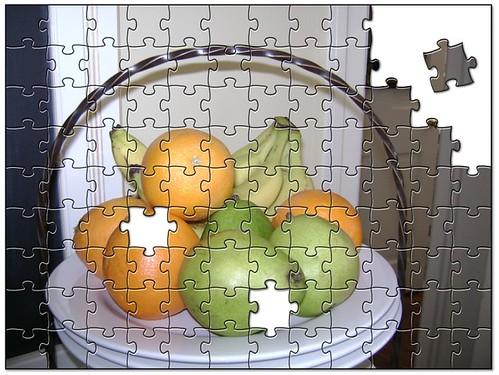 jigsaw Tracey's fruit