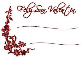 tarjeta de san valentin para regalos
