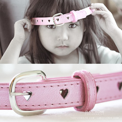 From the bottom of my heart belt (lancelonie) Tags: pink belt diptych pastel stare staring buckle day25 hiddenme pinkbelt project365 365days heartbelt nelonie lanceloniephotography lancelonie365 childholdingabelt