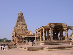 The total view of the temple