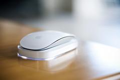 Magic Mouse (michaeljosh) Tags: apple bokeh wirelessmouse nikkor50mmf14d magicmouse project365 nikond90 michaeljosh