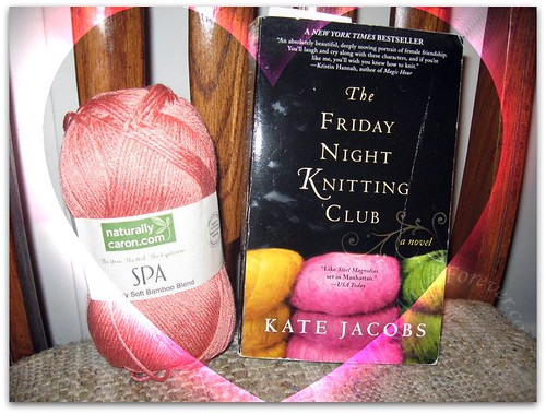Knitting + Books do not mix