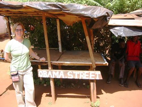 Obama Street, Lusaka Zambia