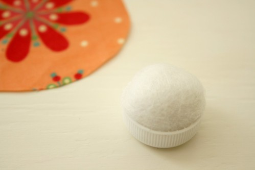 diy ring pincushion, step 2