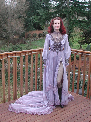 My dress for the 2010 Vampire Ball