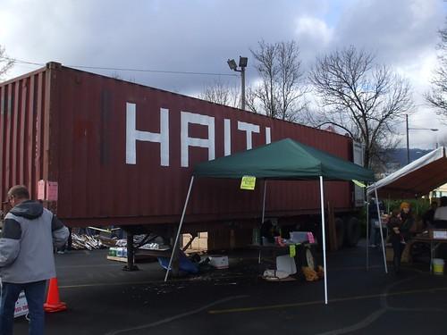 Haiti Relief Container!