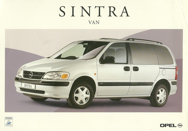 auto chevrolet car ads advertising gm sintra voiture peoplemover bil 1998 minivan venture brochure opel mpv generalmotors drucksache