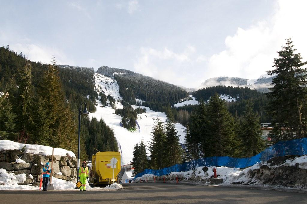 Bottom of the Alpine Skiing Venue