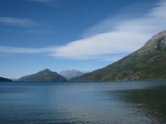 A orillas del lago Puelo