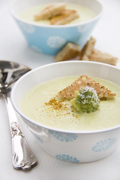 Zuppa con Broccolo Romano