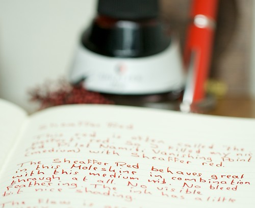 Sheaffer Red