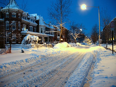 Monroe Street After Blizzard (Mr.TinDC) Tags: houses winter snow streets cold weather washingtondc dc explore dcist streetscapes rowhouses columbiaheights monroestreet snowstorms blizzards snowpocalypse explored snomg snomgasm