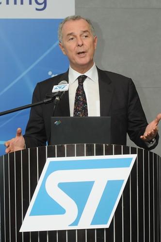意法半導體全球副總裁暨大中華與南亞區總裁紀衡華François Guibert