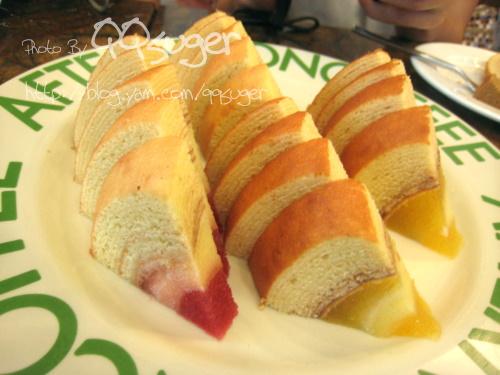 你拍攝的 蘋果年輪蛋糕2。