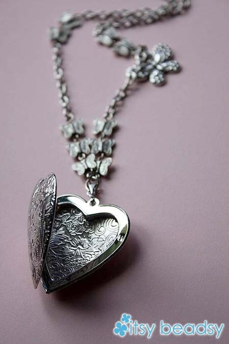 itsy beadsy - buttefly heartII RM40