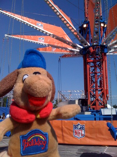 Rides at the Super Bowl!