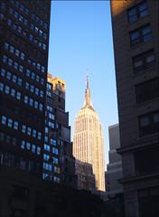 esb canyon (lillergy) Tags: nyc newyorkcity skyscraper canyon esb empirestatebuilding artdeco invertedziggurat yeahthatswhatisaid